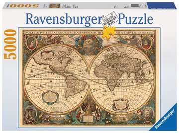 Antieke wereldkaart Puzzels;Puzzels voor volwassenen - image 1 - Ravensburger