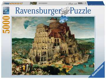 The Tower of Babel Jigsaw Puzzles;Adult Puzzles - image 1 - Ravensburger
