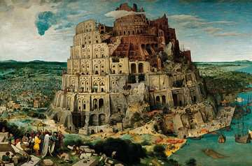 The Tower of Babel Jigsaw Puzzles;Adult Puzzles - image 2 - Ravensburger