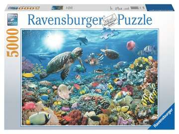 Beneath the Sea Jigsaw Puzzles;Adult Puzzles - image 1 - Ravensburger