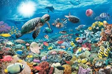 Underwater Tranquility, 5000pc Puslespil;Puslespil for voksne - Billede 3 - Ravensburger