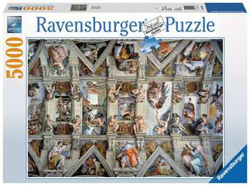 Sistine Chapel Jigsaw Puzzles;Adult Puzzles - image 1 - Ravensburger