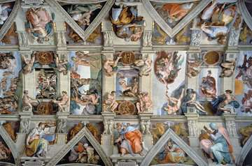 Sistine Chapel Jigsaw Puzzles;Adult Puzzles - image 2 - Ravensburger