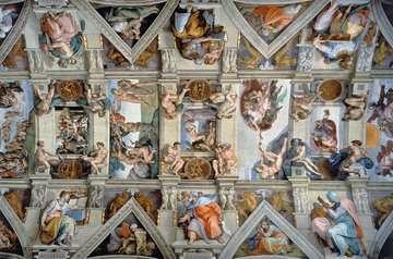 Sixtijnse kapel / Chapelle Sixtine Puzzle;Puzzles adultes - Image 2 - Ravensburger