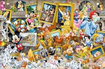 17432 Erwachsenenpuzzle Micky als Künstler von Ravensburger 2