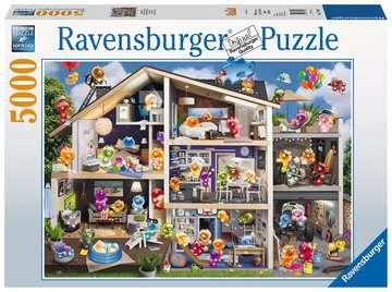 17434 Erwachsenenpuzzle Gelini Puppenhaus von Ravensburger 1