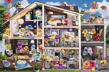 17434 Erwachsenenpuzzle Gelini Puppenhaus von Ravensburger 2