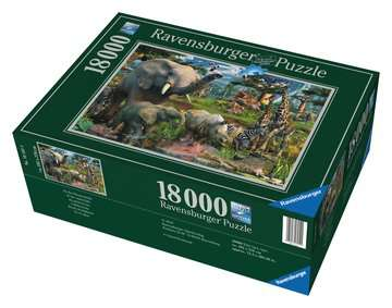 At the Waterhole Jigsaw Puzzles;Adult Puzzles - image 1 - Ravensburger