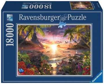 RAJ:ZACHÓD SŁOŃCA 18000EL Puzzle;Puzzle dla dorosłych - Zdjęcie 1 - Ravensburger