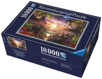 RAJ:ZACHÓD SŁOŃCA 18000EL Puzzle;Puzzle dla dorosłych - Zdjęcie 2 - Ravensburger