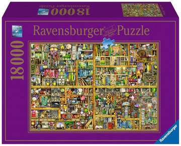 Magical Bookcase Jigsaw Puzzles;Adult Puzzles - image 1 - Ravensburger