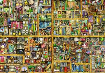Magical Bookcase Jigsaw Puzzles;Adult Puzzles - image 2 - Ravensburger