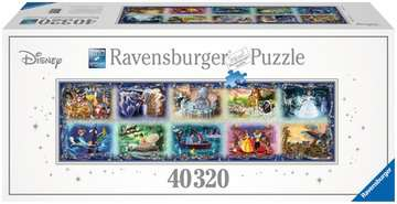 Puzzle 40000 p - Les inoubliables moments Disney Puzzle;Puzzles adultes - Image 1 - Ravensburger