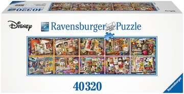Mickey Mouse through the Years, 40,000pc Puzzles;Adult Puzzles - image 1 - Ravensburger