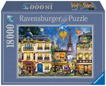Evening Walk in Paris Jigsaw Puzzles;Adult Puzzles - image 1 - Ravensburger