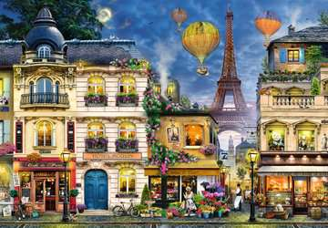 Evening Walk in Paris Jigsaw Puzzles;Adult Puzzles - image 2 - Ravensburger