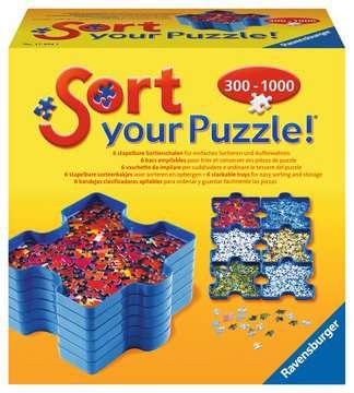 POJEMNIKI DO SORTOWANIA PUZZLI Puzzle;Puzzle dla dorosłych - Zdjęcie 1 - Ravensburger