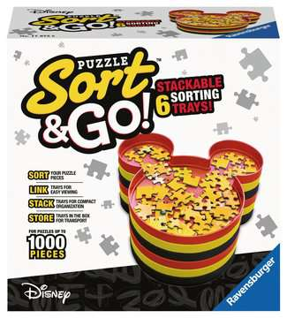 Mickey s Sort & Go! Jigsaw Puzzles;Puzzle Accessories - image 1 - Ravensburger