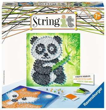 String it Midi: Panda & Fox Malen und Basteln;Bastelsets - Bild 1 - Ravensburger
