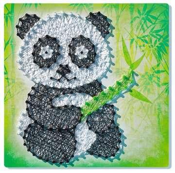 String it Midi: Panda & Fox Malen und Basteln;Bastelsets - Bild 2 - Ravensburger