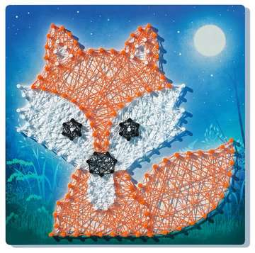 18029 Bastelsets String it Midi: Panda & Fox von Ravensburger 3