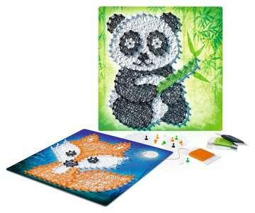 String it Midi: Panda & Fox Malen und Basteln;Bastelsets - Bild 4 - Ravensburger