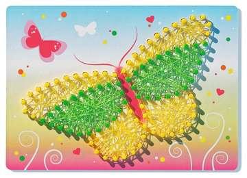 String it Mini: Butterflies Malen und Basteln;Bastelsets - Bild 2 - Ravensburger