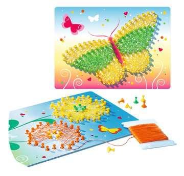 String it Mini: Butterflies Malen und Basteln;Bastelsets - Bild 4 - Ravensburger