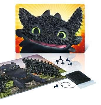 String it Mini: DreamWorks: Dragons Malen und Basteln;Bastelsets - Bild 4 - Ravensburger