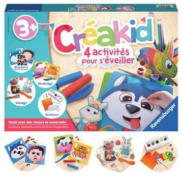 Créakid kit multi-activités Loisirs créatifs;Dessin - Image 3 - Ravensburger