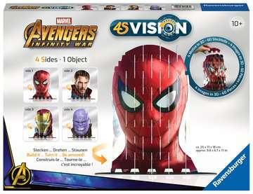 4S Vision Avengers Infinity War Spiderman Malen und Basteln;Bastelsets - Bild 1 - Ravensburger