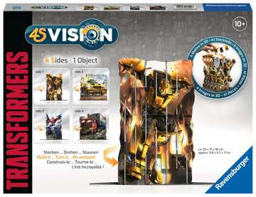 4S Vision Transformers Malen und Basteln;Bastelsets - Bild 1 - Ravensburger