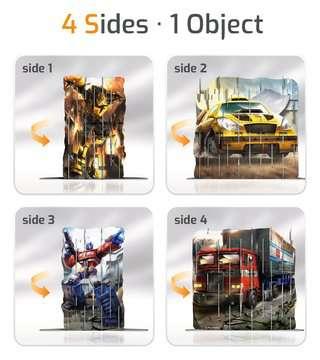 4S Vision Transformers Malen und Basteln;Bastelsets - Bild 3 - Ravensburger