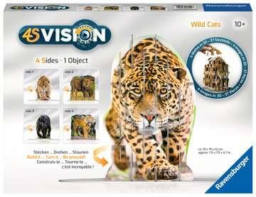 4S Vision Wild Cats Malen und Basteln;Bastelsets - Bild 1 - Ravensburger