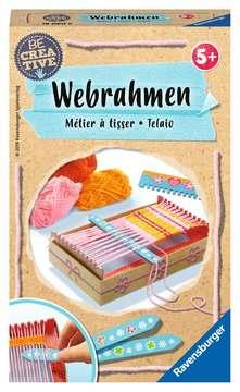 18060 Bastelsets Be Creative Webrahmen von Ravensburger 1