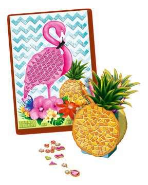 Mosaïque Tropical Loisirs créatifs;Création d objets - Image 3 - Ravensburger