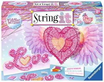 String it Maxi: 3D-Heart Malen und Basteln;Bastelsets - Bild 1 - Ravensburger