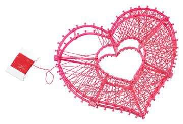 String it Maxi: 3D-Heart Malen und Basteln;Bastelsets - Bild 4 - Ravensburger
