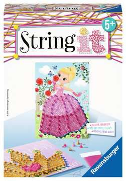18066 Bastelsets String it Mini: Pink Princess von Ravensburger 1