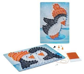 18067 Bastelsets String it Mini: Pinguine von Ravensburger 4