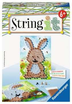 String it Mini: Rabbit Malen und Basteln;Bastelsets - Bild 1 - Ravensburger