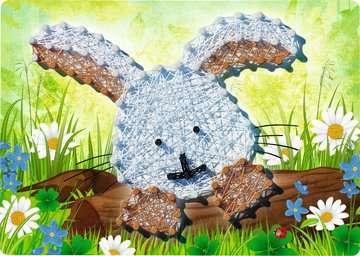 String it Mini: Rabbit Malen und Basteln;Bastelsets - Bild 3 - Ravensburger