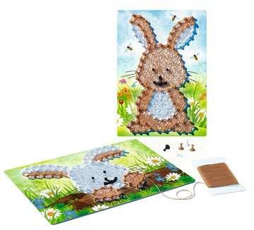 String it Mini: Rabbit Malen und Basteln;Bastelsets - Bild 4 - Ravensburger