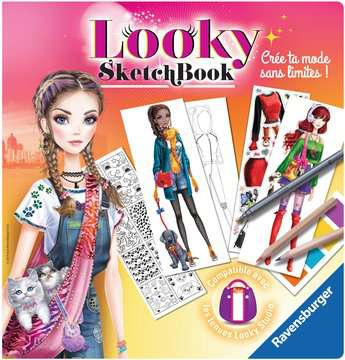 Looky Sketch book petits animaux Loisirs créatifs;Dessin - Image 1 - Ravensburger