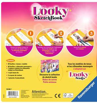 Looky Sketch book petits animaux Loisirs créatifs;Dessin - Image 2 - Ravensburger