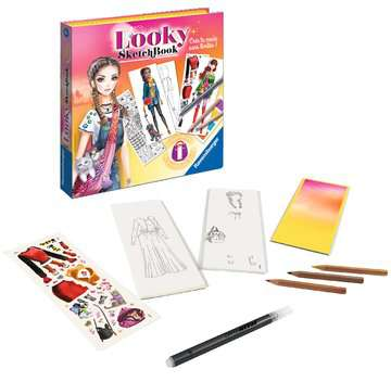 Looky Sketch book petits animaux Loisirs créatifs;Dessin - Image 3 - Ravensburger