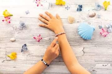 Treasure Pearls starter set: Beauty, bleu Loisirs créatifs;Création d objets - Image 10 - Ravensburger