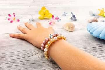 Treasure Pearls starter set: Beauty, bleu Loisirs créatifs;Création d objets - Image 12 - Ravensburger