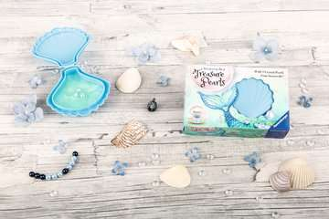 Treasure Pearls starter set: Beauty, bleu Loisirs créatifs;Création d objets - Image 15 - Ravensburger