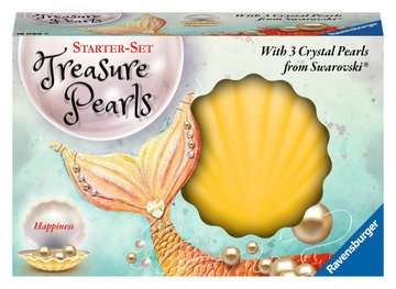 Treasure Pearls Happiness Malen und Basteln;Bastelsets - Bild 1 - Ravensburger